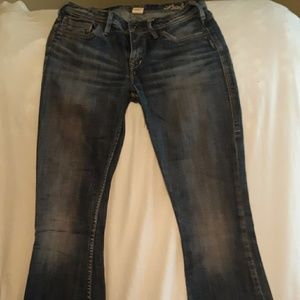 Denim - Silver Blue Jeans Nearly New